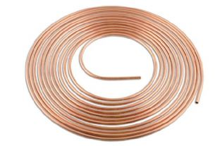 Connect 31139 Copper Pipe 1/2in. x 25ft. Pk 1